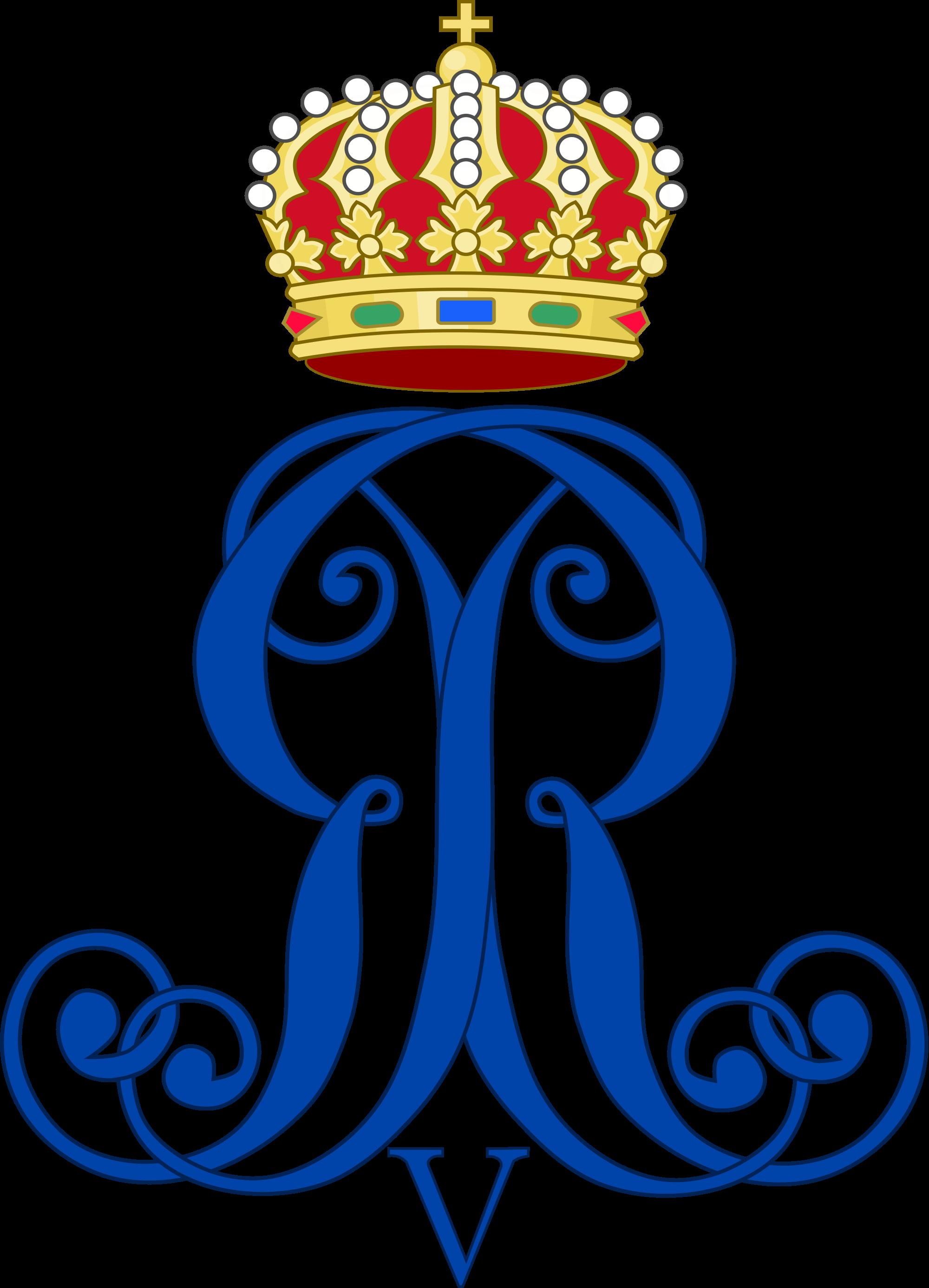 File:Royal Monogram of King George V of Hanover.svg.