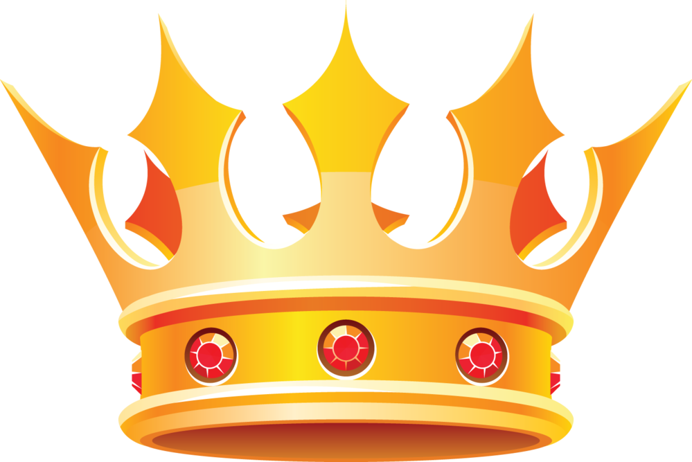 689 King Crown free clipart.