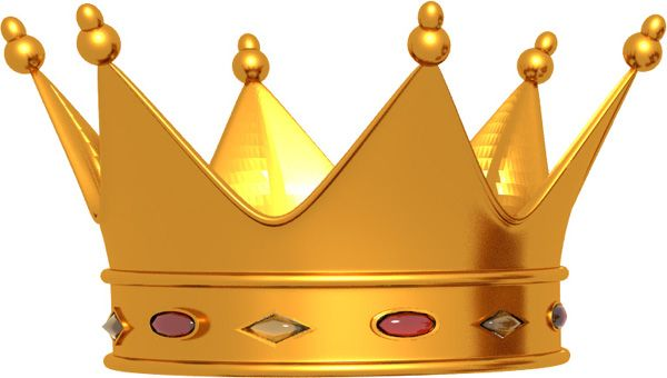 King hat clipart.