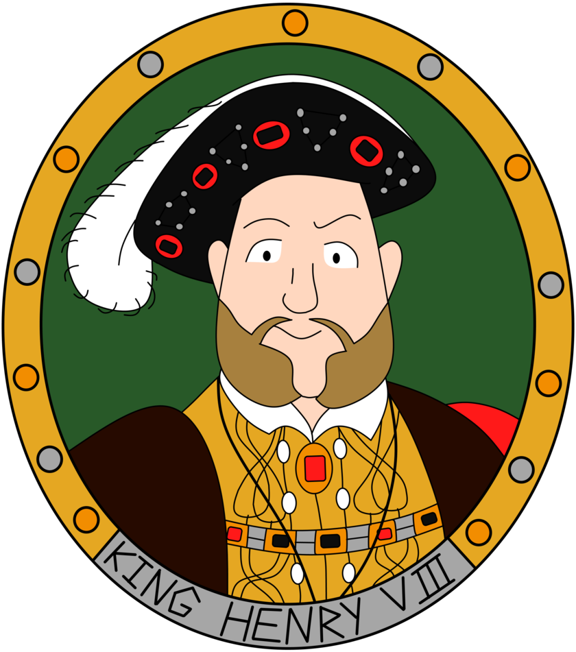 Henry The Eighth Cartoon.