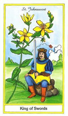 Herbal Tarot ► Four of Swords.