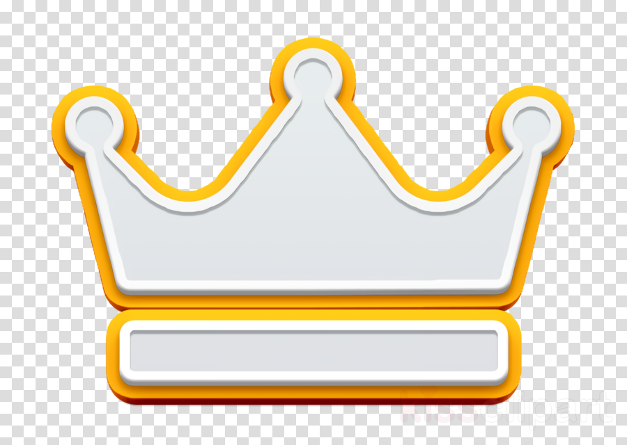 Crown icon King icon fashion icon clipart.