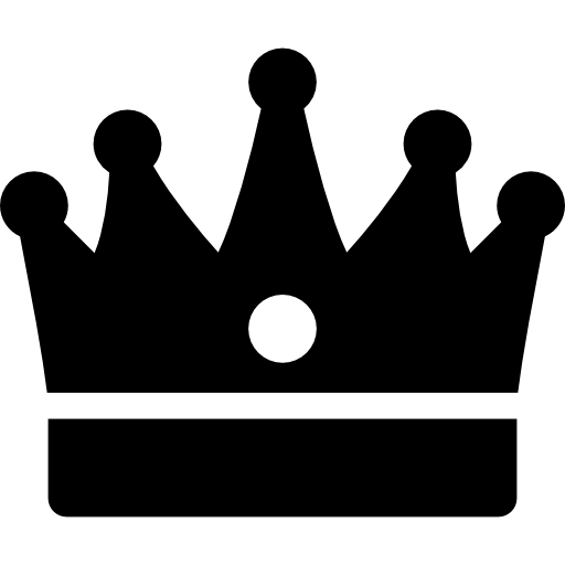 King crown Icons.