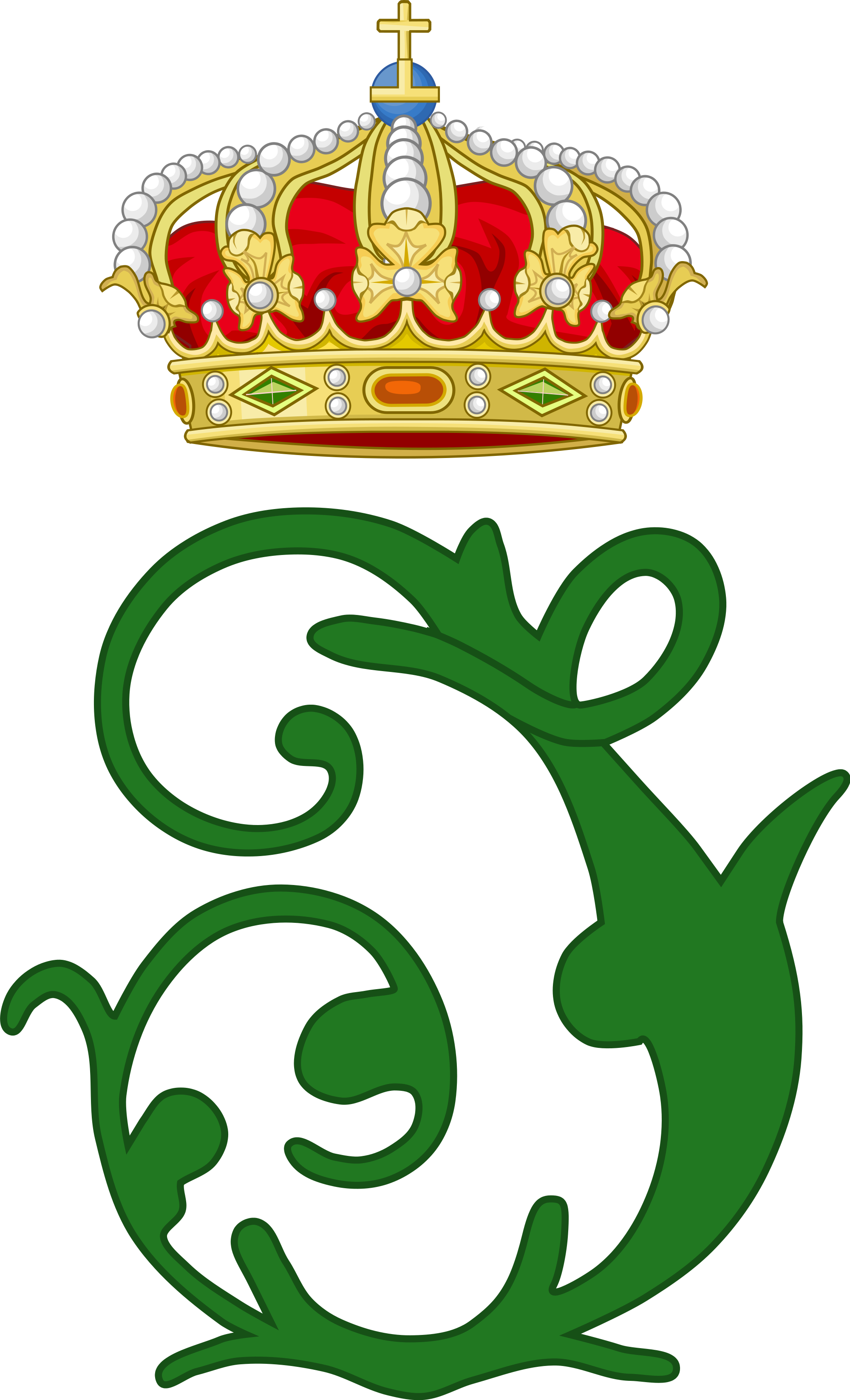 File:Royal Monogram of King Johann of Saxony.svg.