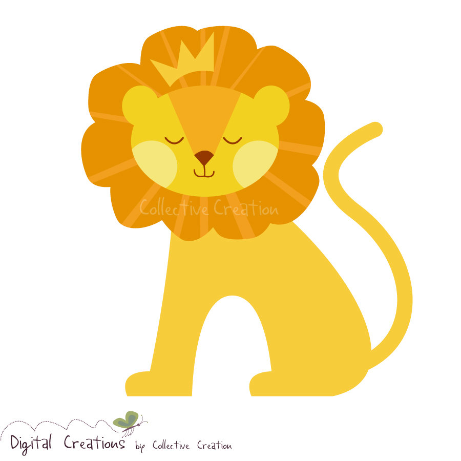 The King Of Jungle Clipart.