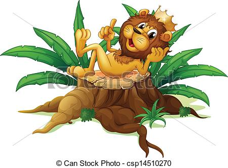 The King of Jungle Clip Art.