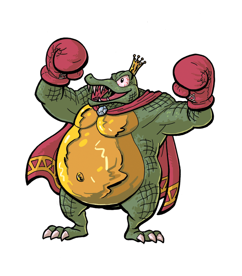 King K. Rool by jnsfw.