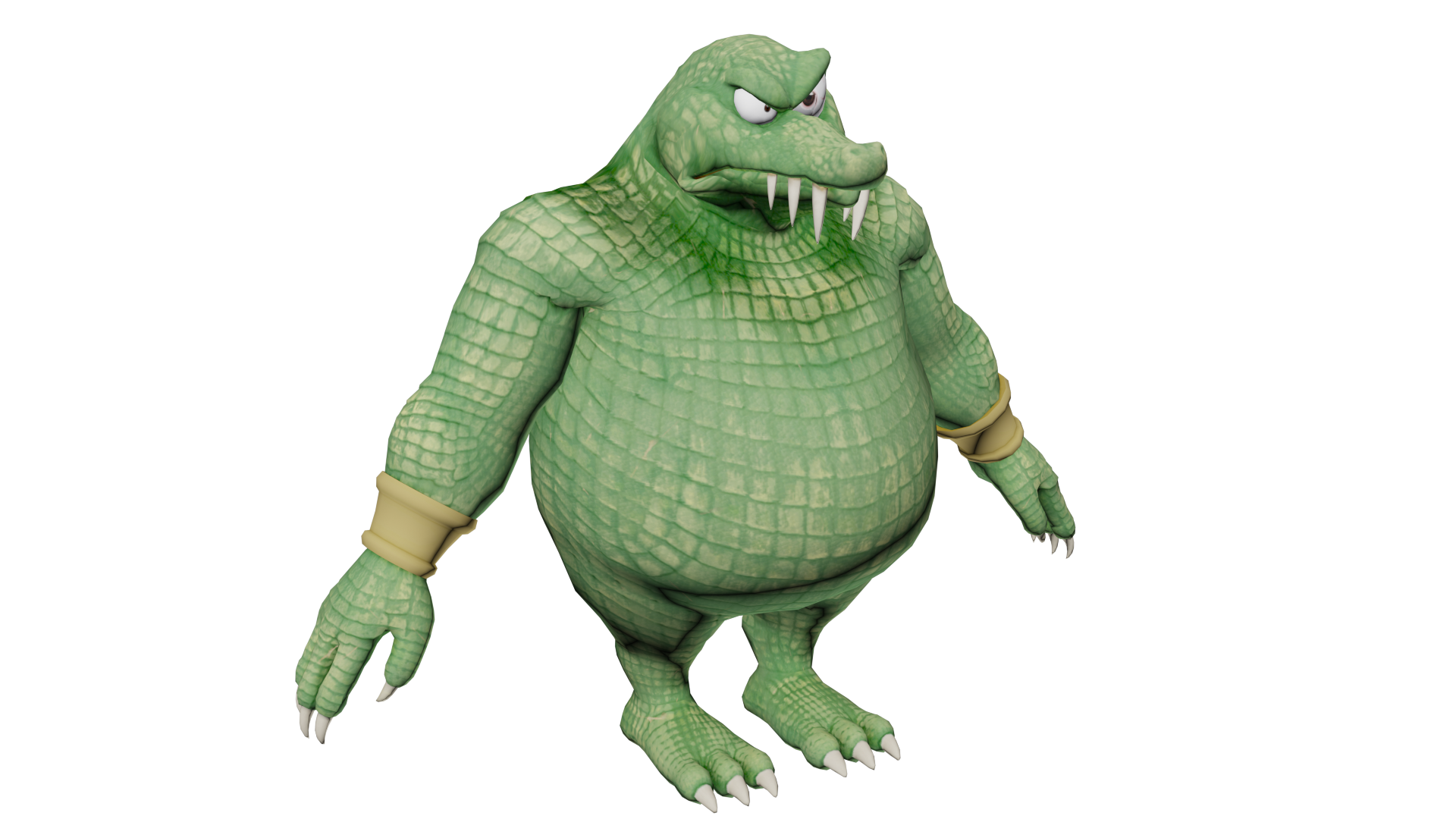 Just wanted to bless this sub with naked King K. Rool.
