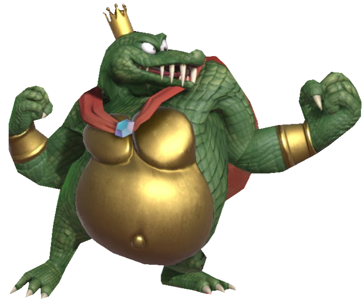 King K.Rool Uppercutting By TransparentJ #561094.