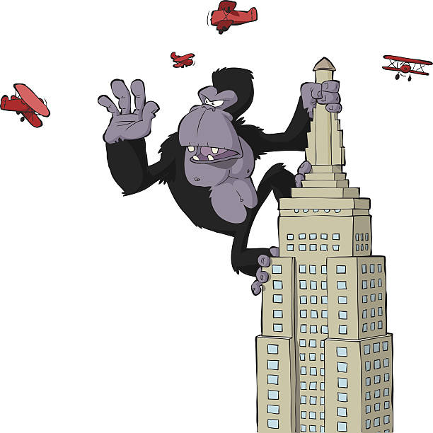 Best King Kong Illustrations, Royalty.