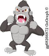 King Kong Clip Art.