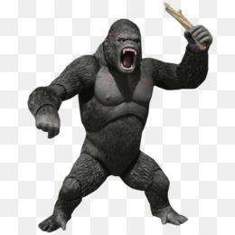 King Kong png free download.