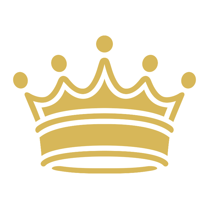 King with crown clipart.
