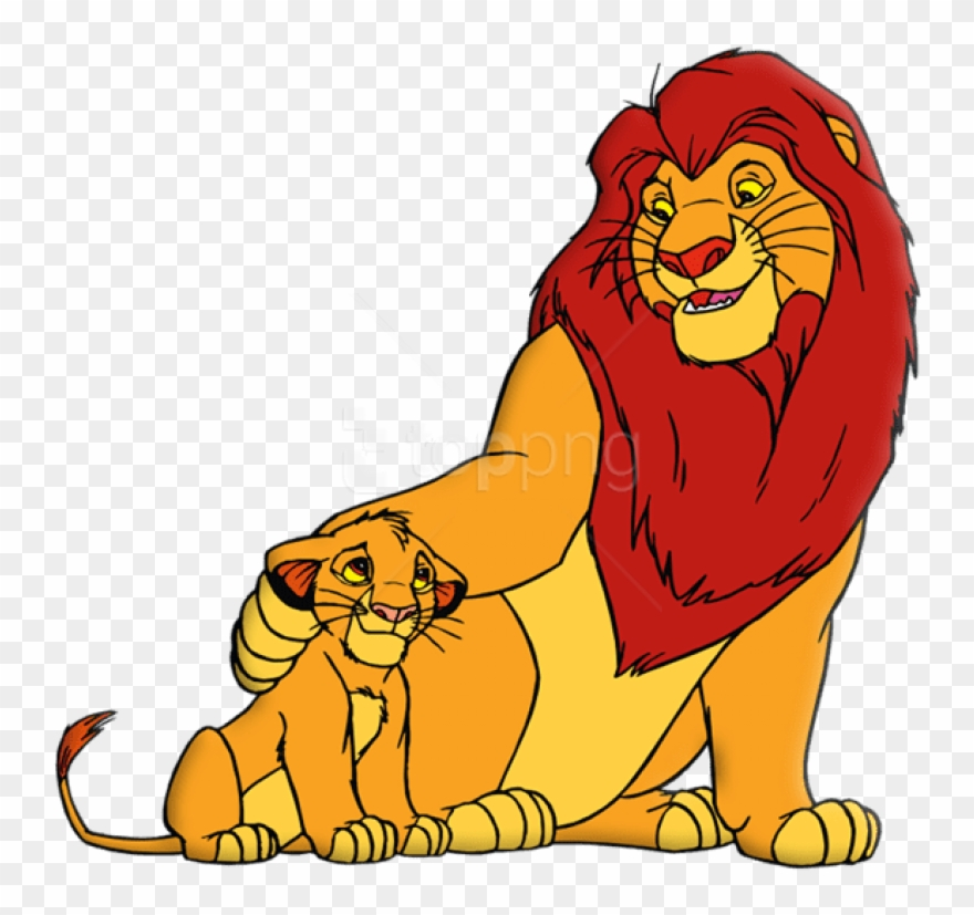 Free Png Download King Lion And Simba Clipart Png Photo.