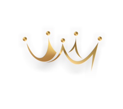 Download Free png Vector art gold king cap logo download.