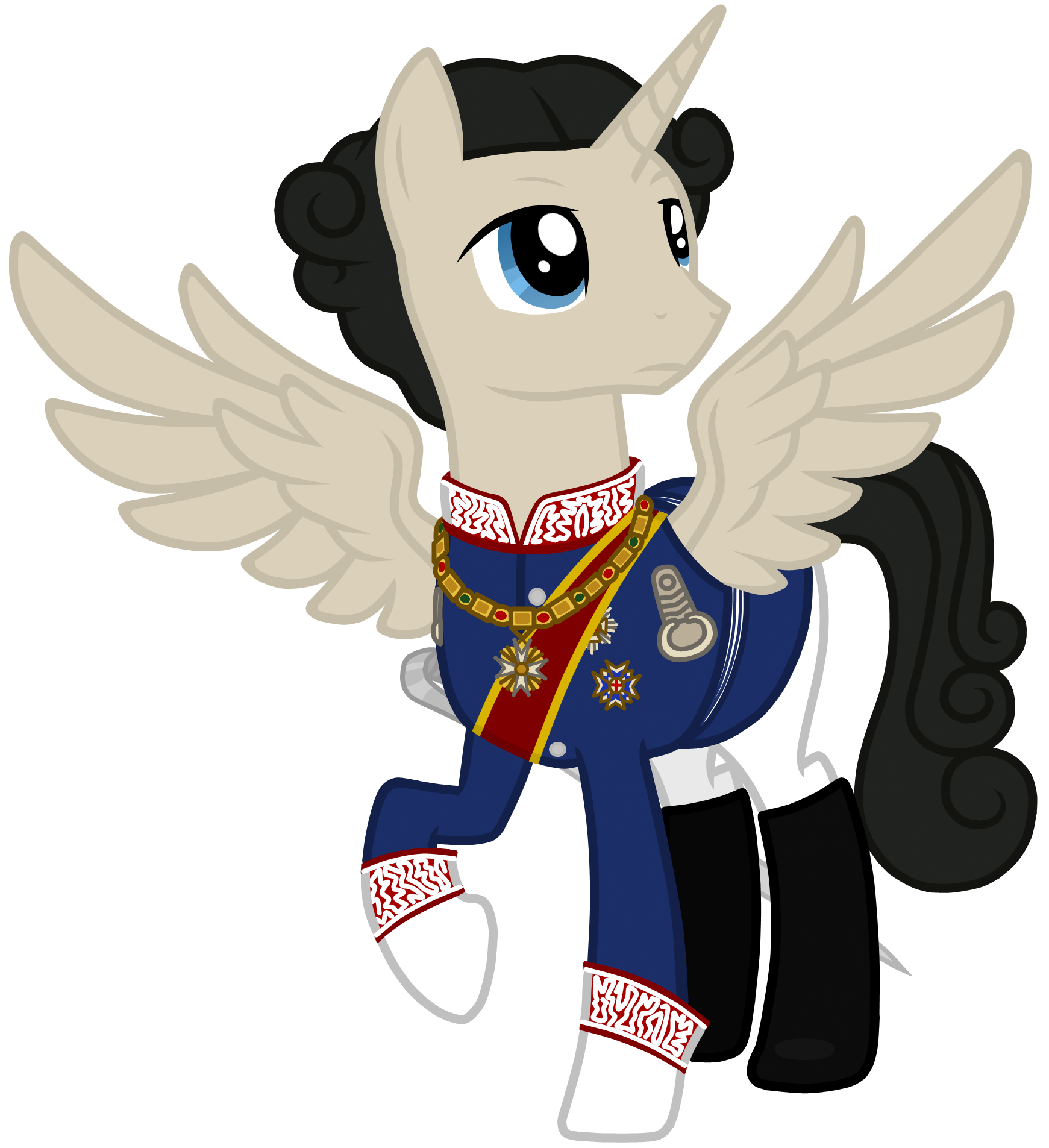 King Ludwig II of Bavaria (Pony Vector) by Neutron.