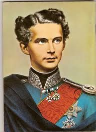 King Ludwig II, the king behind the creation of Neuschwanstein.