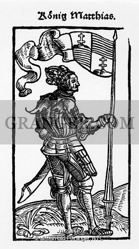 Image of MATTHIAS CORVINUS.