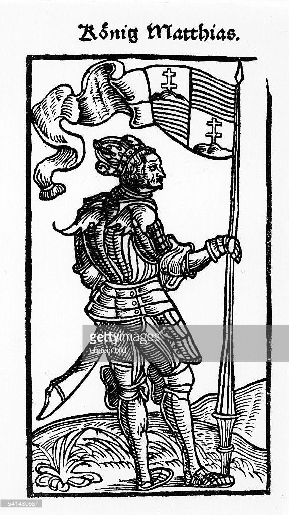 Matthias Corvinus of Hungary Woodcuts Matthias Corvinus of Hungary.