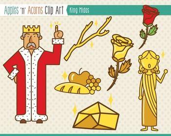 King Midas Clip Art.