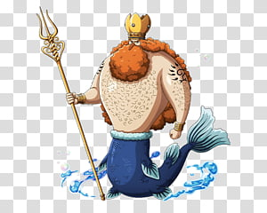 King Neptune transparent background PNG cliparts free.