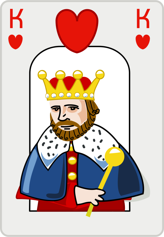 Free Clipart: King of hearts.