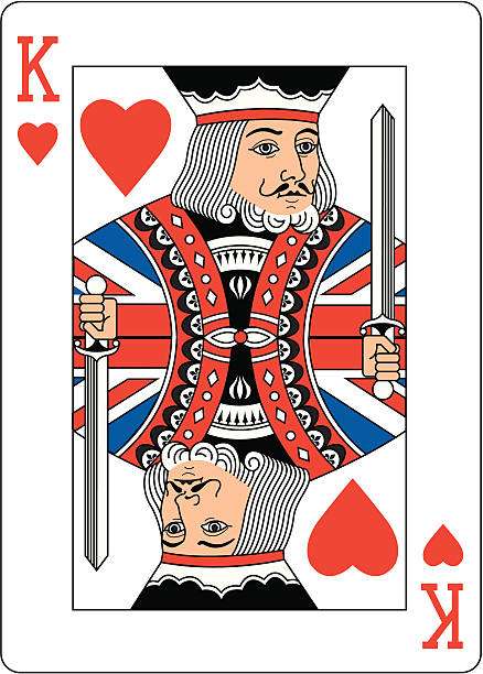 Best King Of Hearts Illustrations, Royalty.
