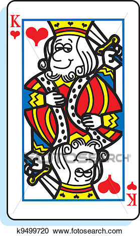 King of Hearts Clipart.