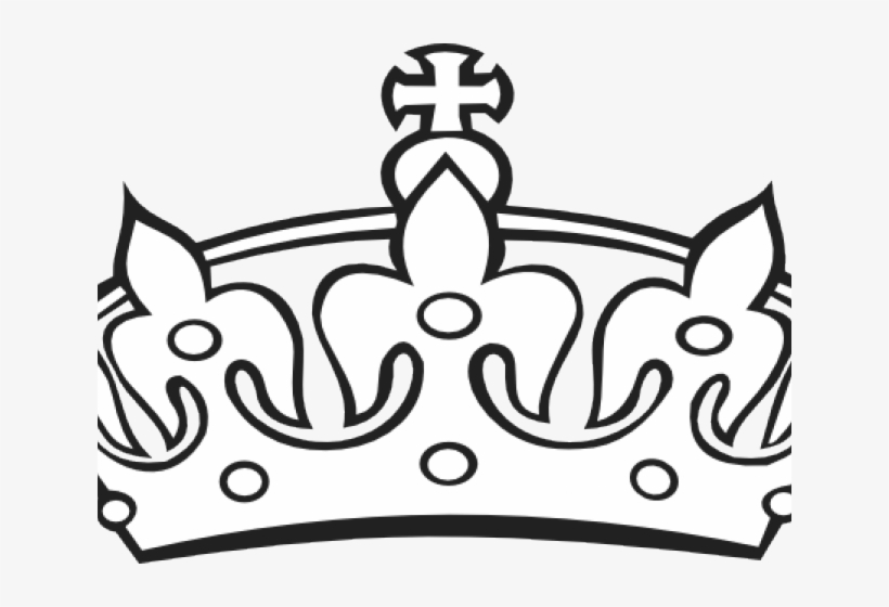 King Crown Clipart Black And White.