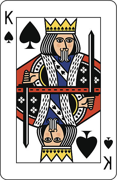 King Of Spades Illustrations, Royalty.
