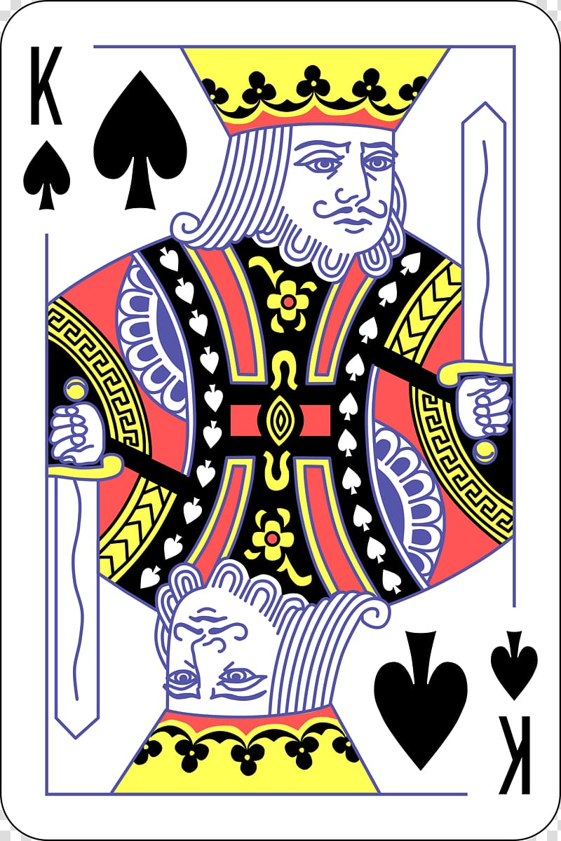 King of spade playing card, King of spades Playing card Suit.