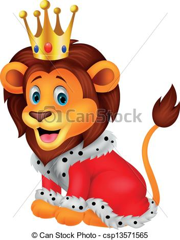 King of the jungle clipart #2