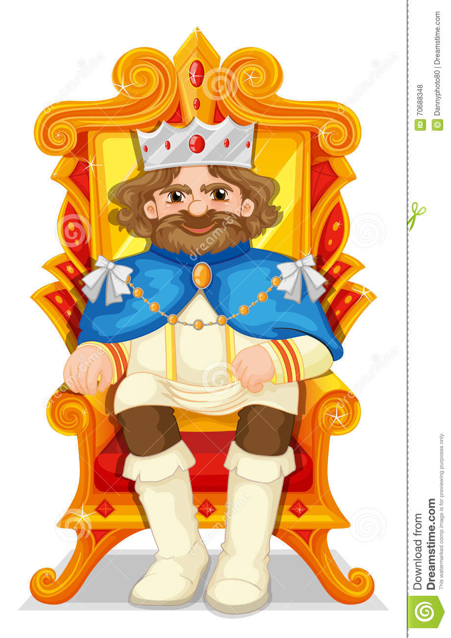 553 Throne free clipart.