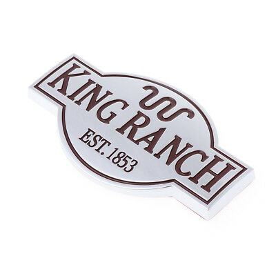 DOOR TAILGATE KING Ranch Emblem Logo Sticker For Ford F150.