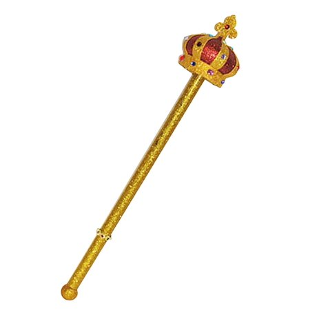 King Or Queen Crown Scepter #68067.