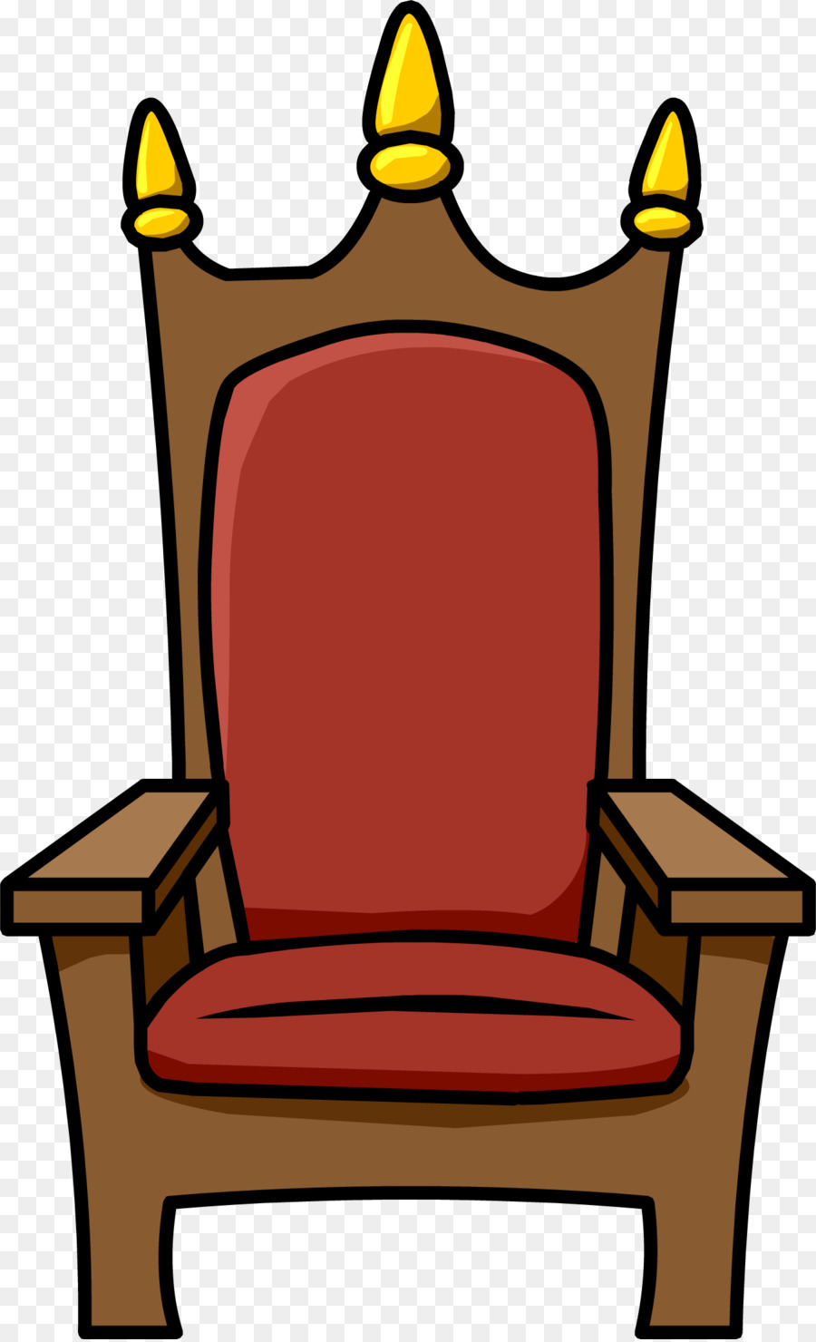 Throne Chair png download.