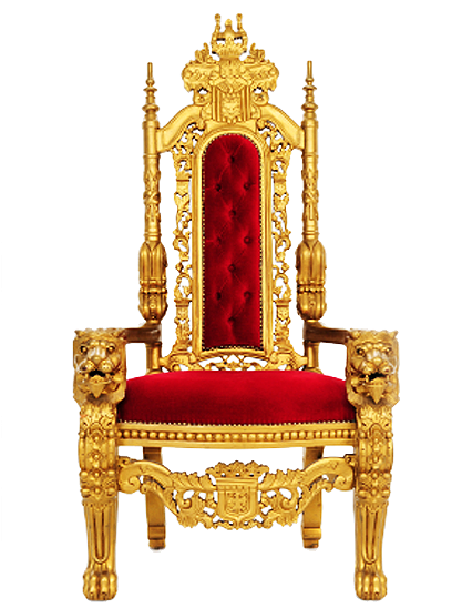 HD King Throne Png.