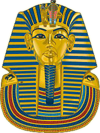Free to Use & Public Domain King Tut Clip Art.