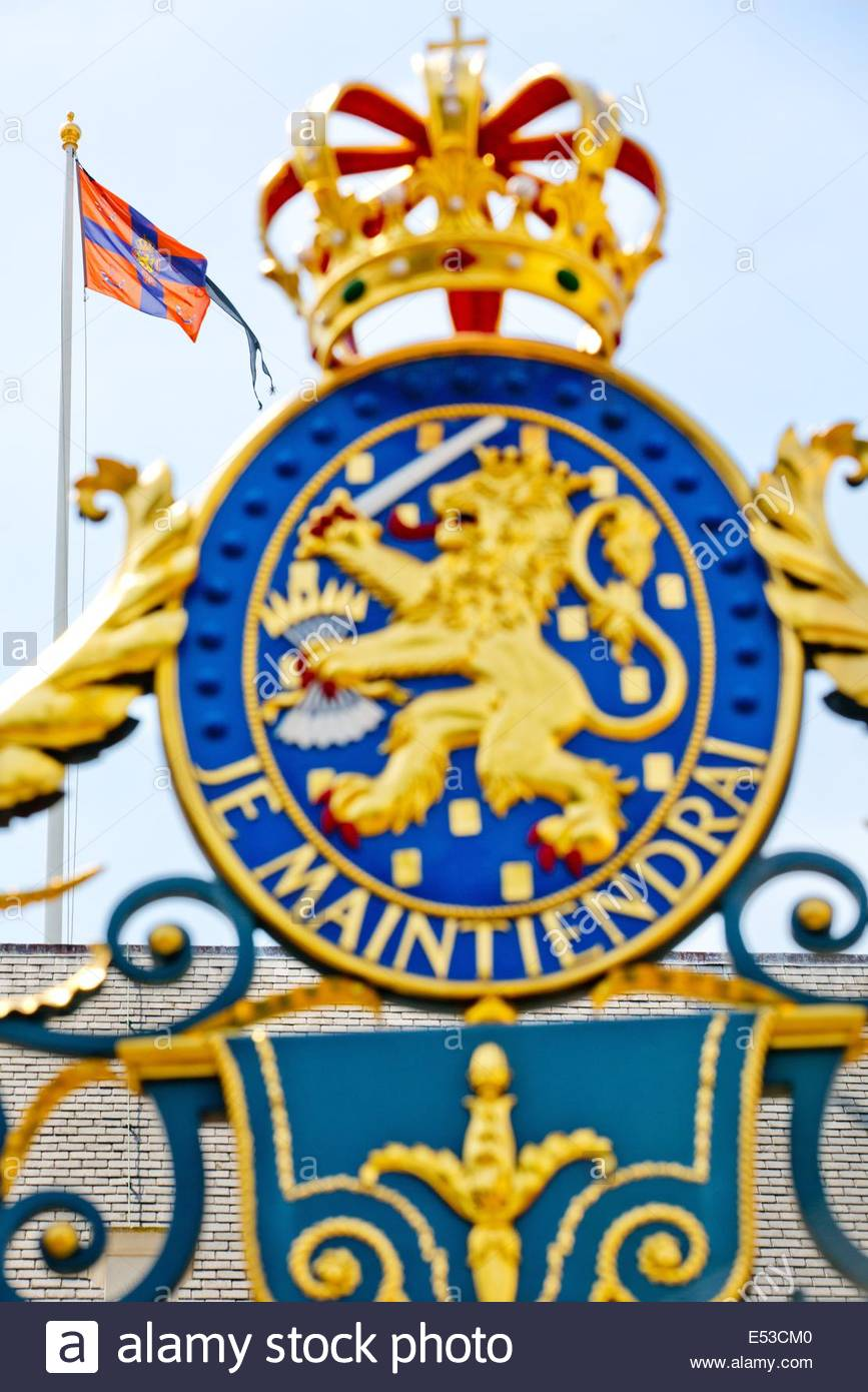 The Hague, The Netherlands. 18th July, 2014. The Royal Standard Of.