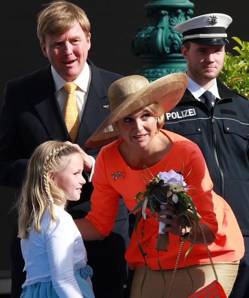 Willem Alexander And Maxima.