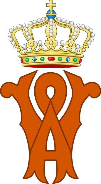 Royal Monogram of King Willem.