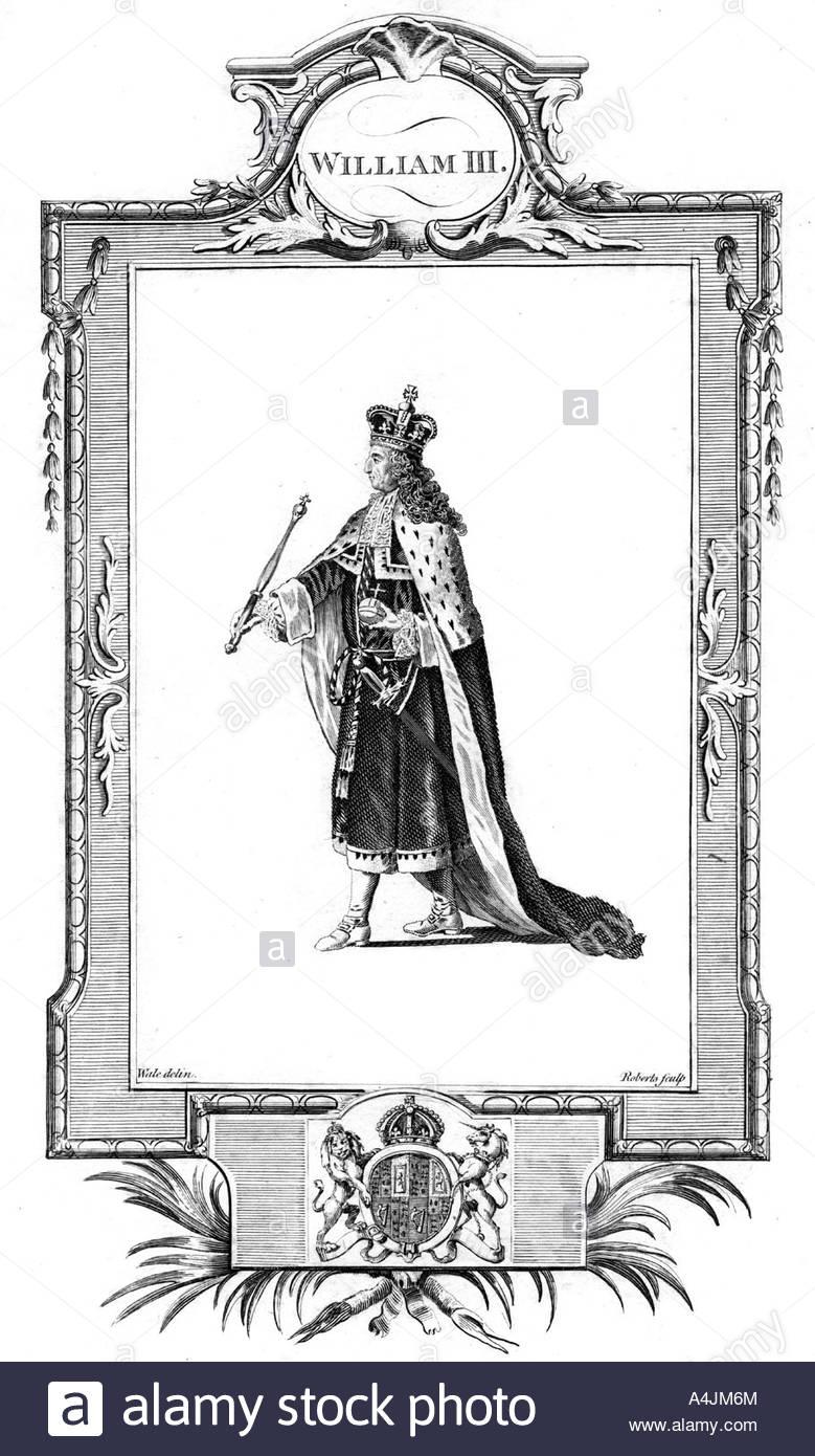 William Iii King Of England Scotland And Ireland Stock Photo.