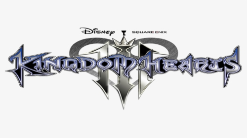 Kingdom Hearts 3 Logo Png, Transparent Png.