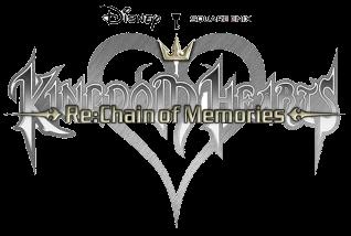 Kingdom Hearts Chain of Memories Logo.