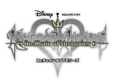 Kingdom Hearts Re:Chain of Memories logo..