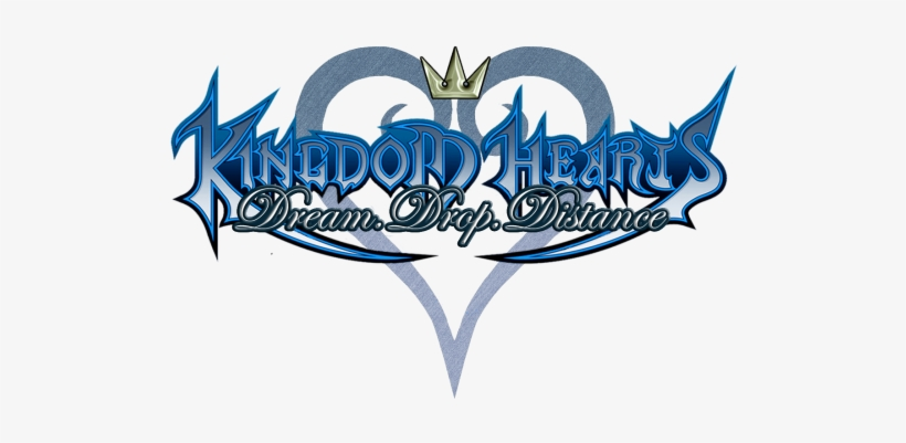 Kingdom Hearts 3d Logo, Kingdom Hearts Dream Clipart.
