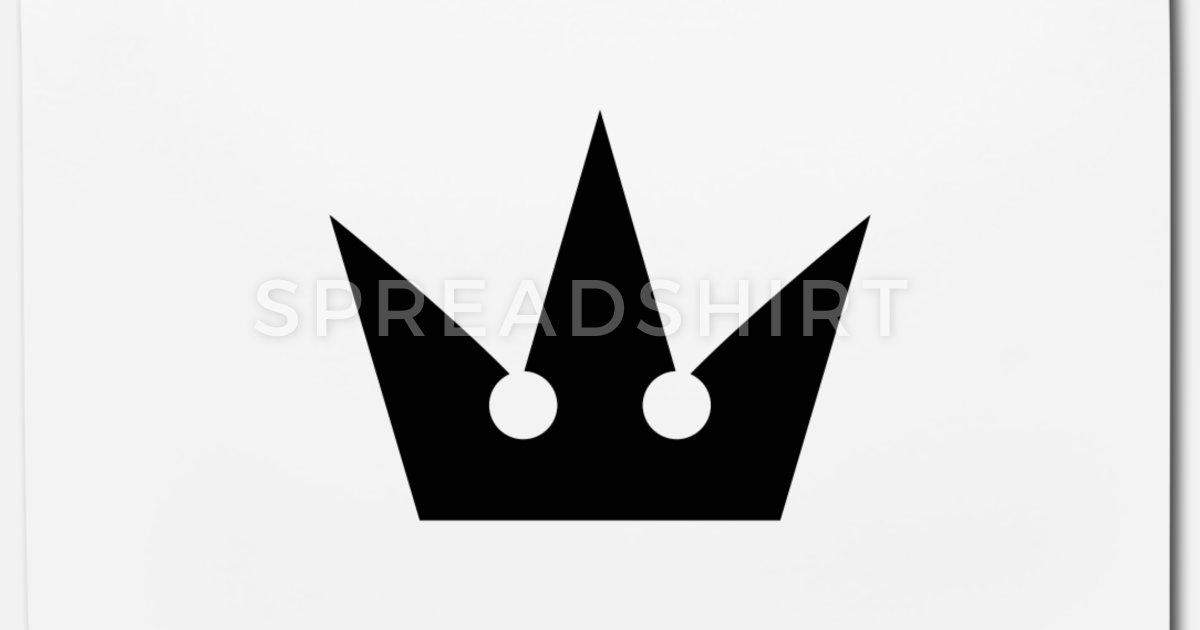 Kingdom Hearts Crown Symbol Mouse Pad.