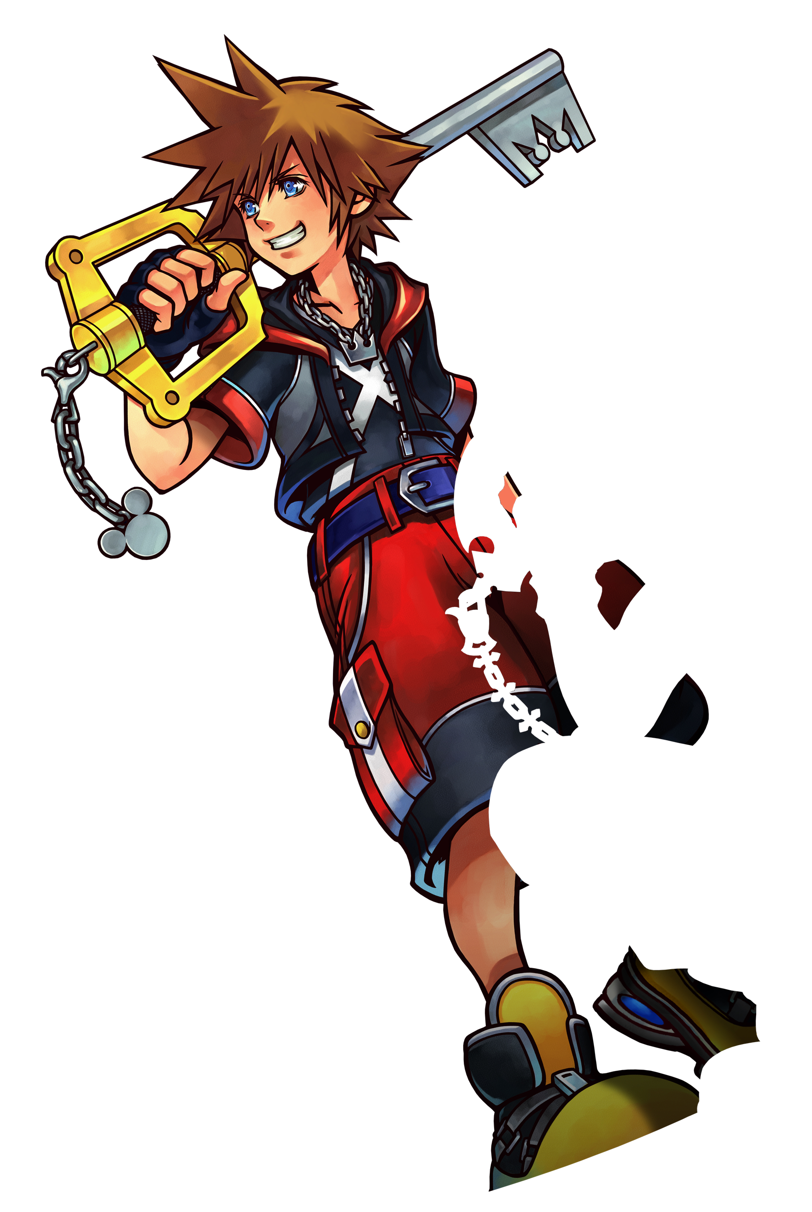 Kingdom Hearts III PNG Transparent Image.