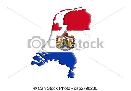 Stock Illustration of Kingdom of the Netherlands csp2798230.