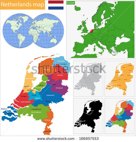 Province Of The Netherlands Stock Photos, Royalty.